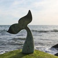 Whale Tail Sculpture | Humpback Whale Tail